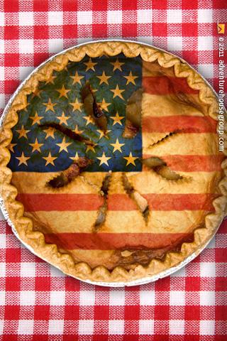 American Apple Pie Recipe — Dishmaps