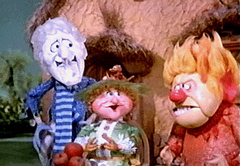 Mother Nature and her two rascally sons: Snow Miser and Heat Miser, 1974