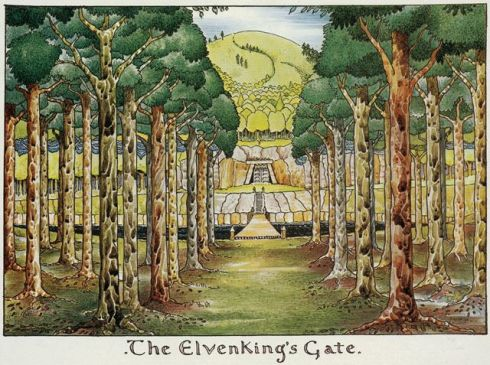 The Elven King's Gate by Tolkien