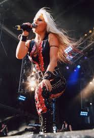 Doro on stage in Germany