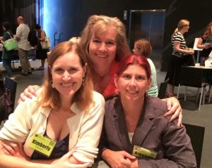 United in writing: Kimberly, Erika & Manda